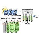 Thousandfold Improvement in Solar Photobioreactors