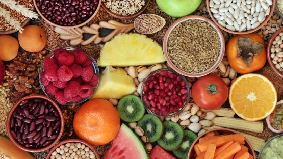 Fruits and legumes